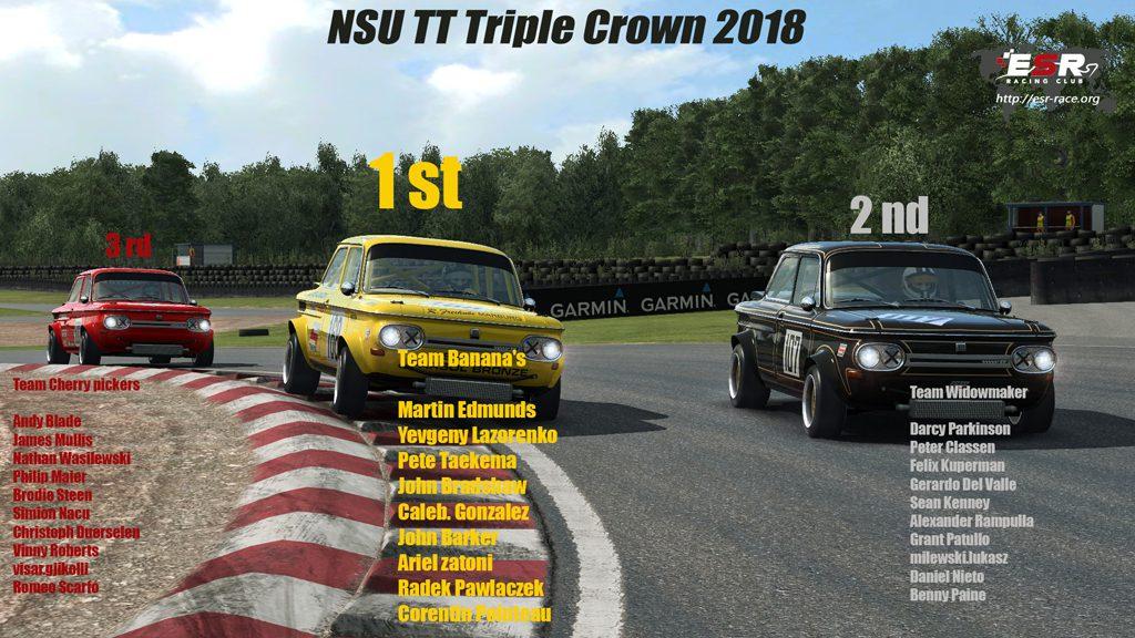 NSU TT Podium