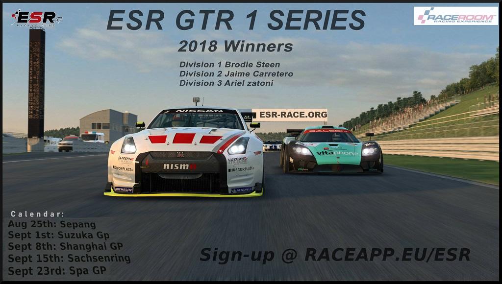 ESR GTR1 Podium