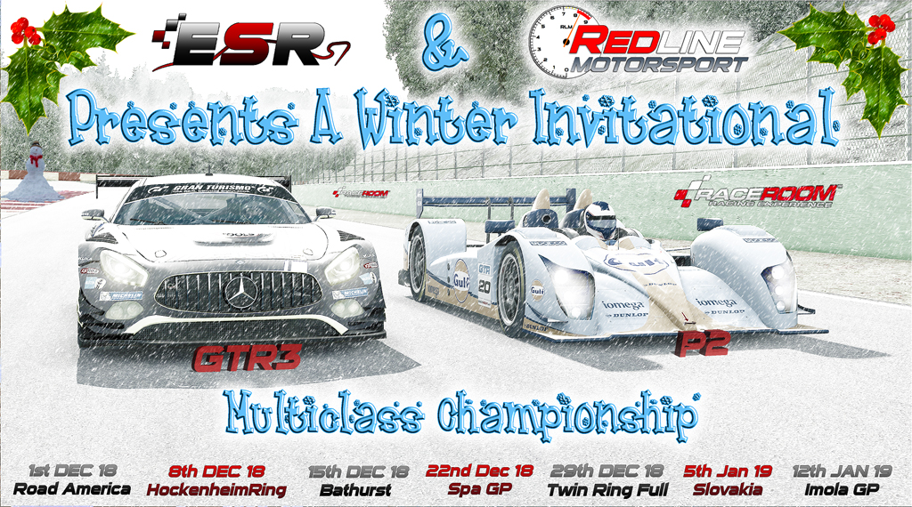 ESR & RLM 2018 Winter Invitational