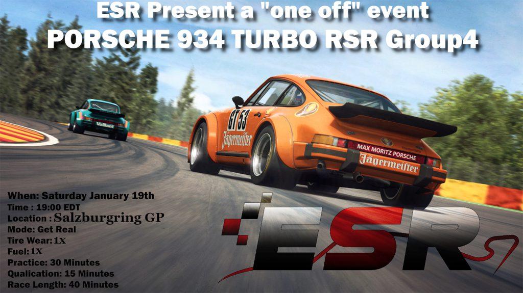 Porsche GT4 one off event
