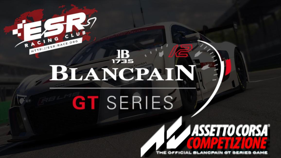 ESR ACC Blancpain Series