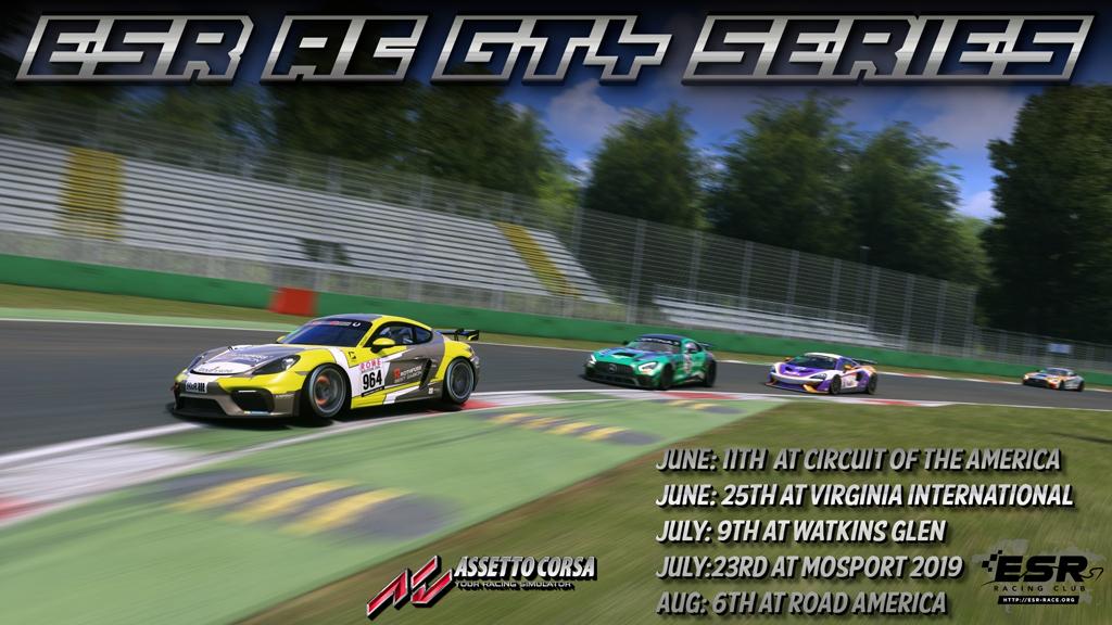 ESR GT4 Series in Assetto Corsa
