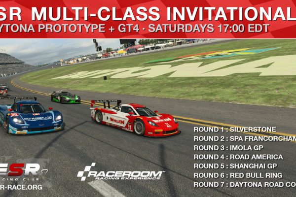ESR Multi-class racing series in Raceroom