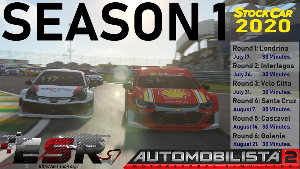 ESR Stock Car 2020 Series in Automobilista 2