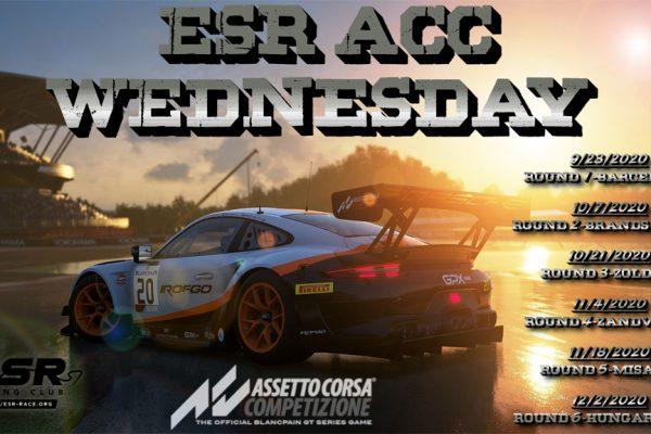 ESR Wednesday series in Assetto Corsa Competizione