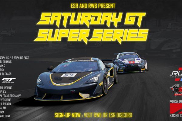 ESR & RWB Super GT Saturday Series in Assetto Corsa Competizione