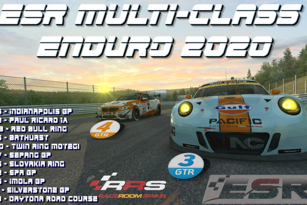 ESR Multi-class Enduro series in Raceroom Racing Experience