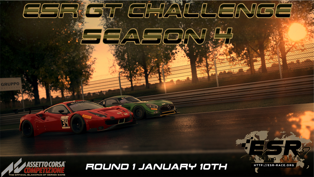 ESR ACC GT Challenge - series 4