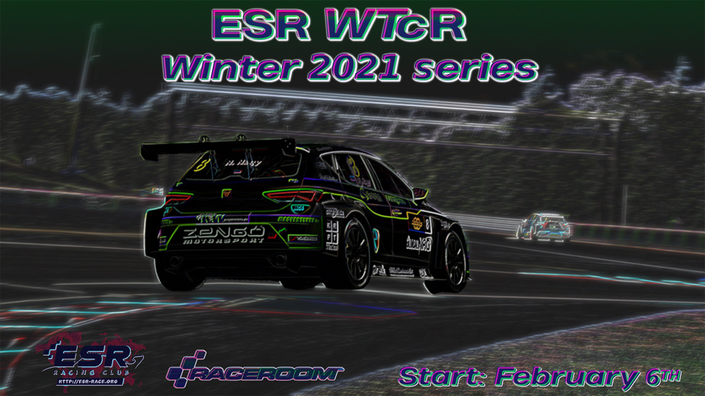 ESR Touring Car Racing Series in Raceroom