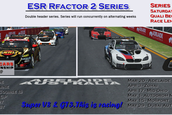 ESR GT3 Series 2 in Rfactor2