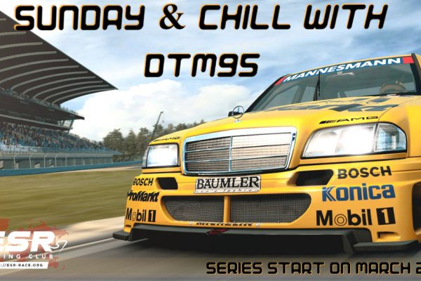 Sunday DTM'95 series in Raceroom