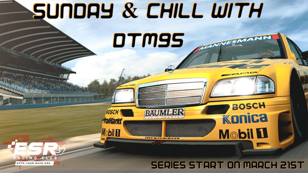 Sunday DTM'95 series in Raceroom