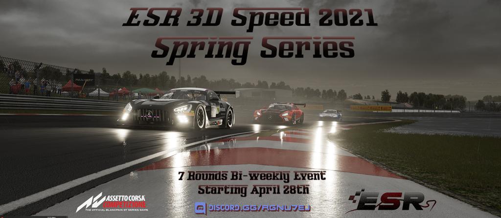 ESR 3D Speed series in ACC poster