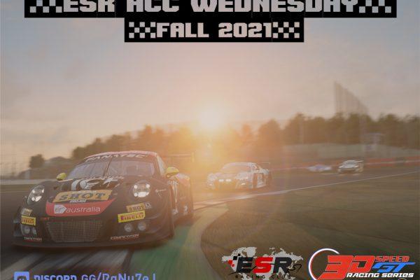 3D Speed series fall 2021 logo
