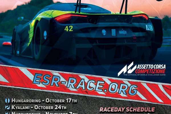 ESR ACC GT Challenge Poster